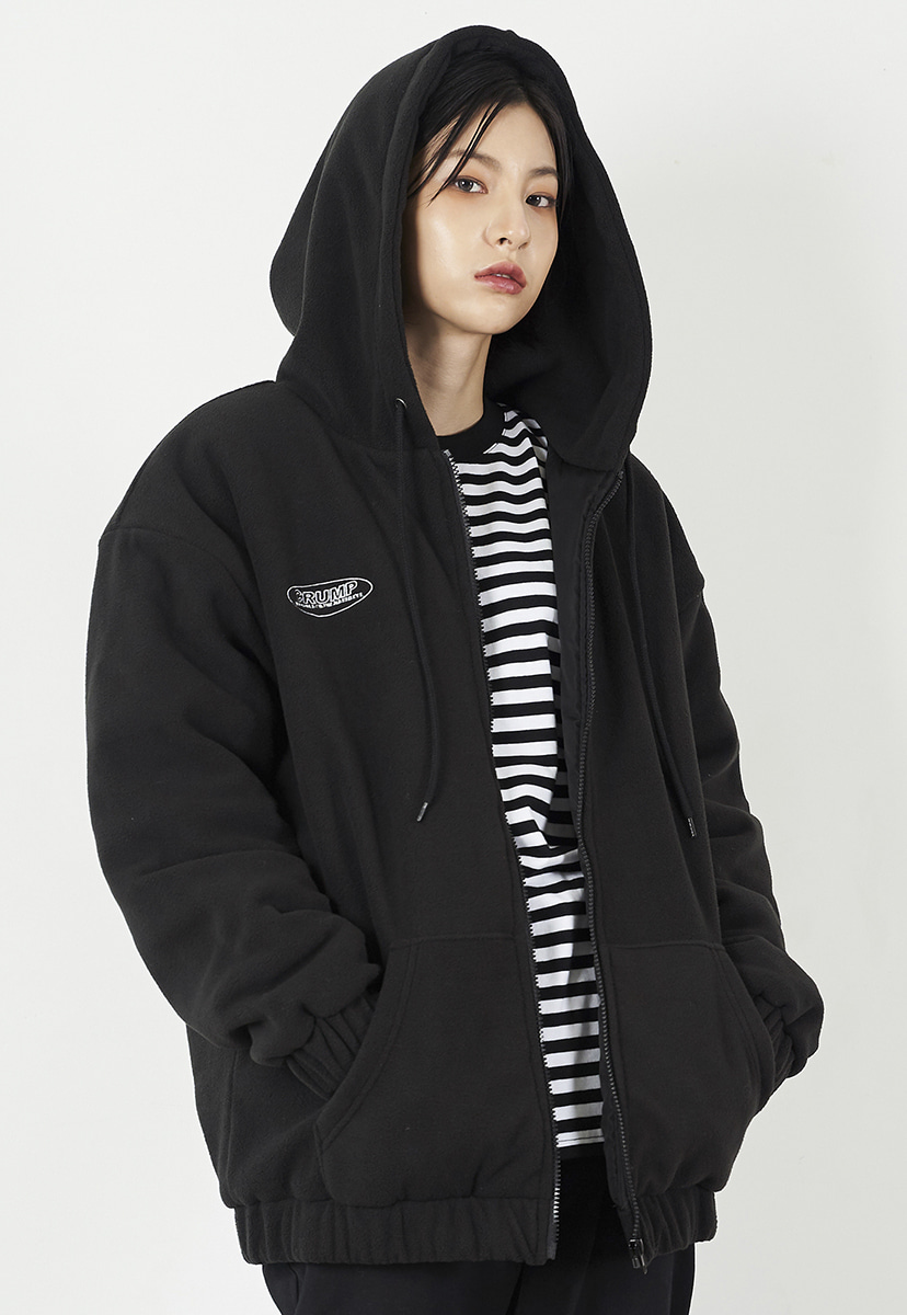 [크럼프] Crump overfit fleece hoodie zipup (CO0035)