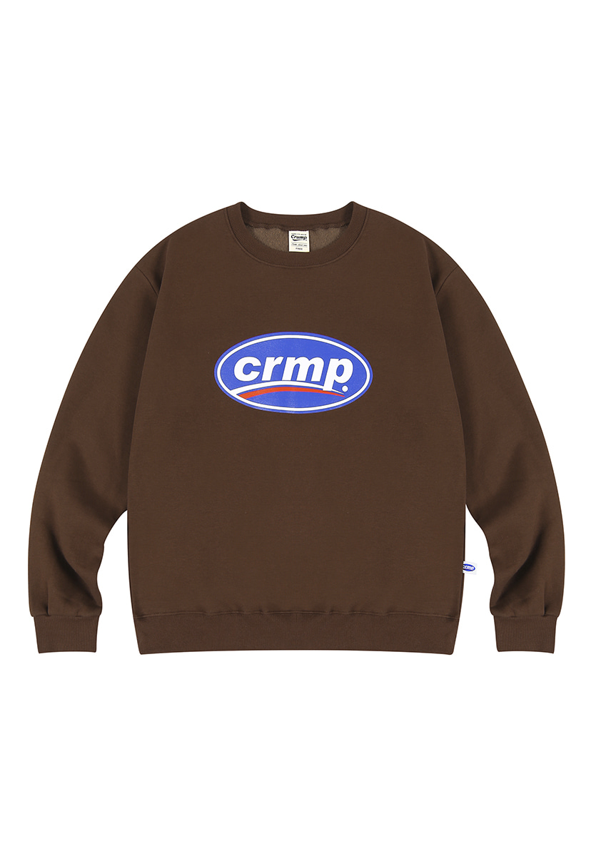 [크럼프][기모] Crump big logo crewneck (CT0238g-1)