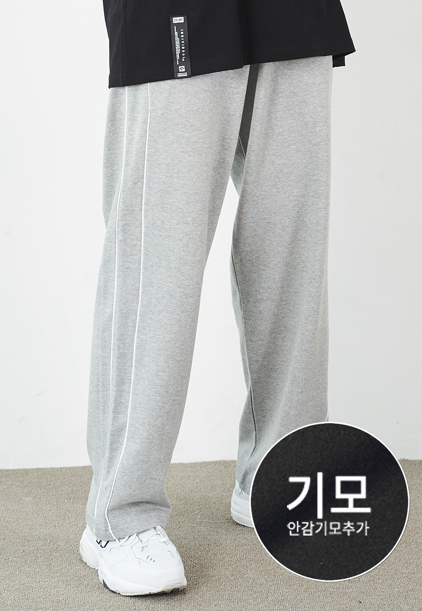 [12/20 예약배송][크럼프] [기모] Crump piping track pants (CP0104g-1)