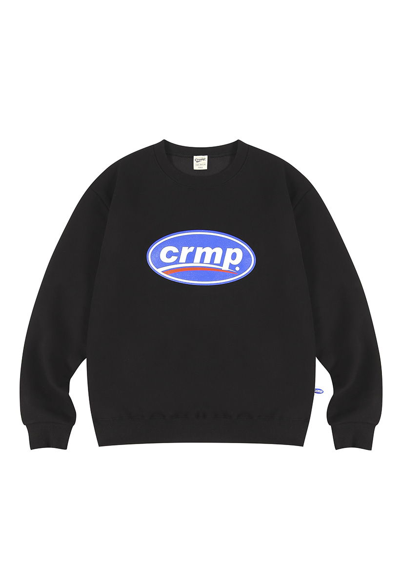 [크럼프][기모] Crump big logo crewneck (CT0238g)