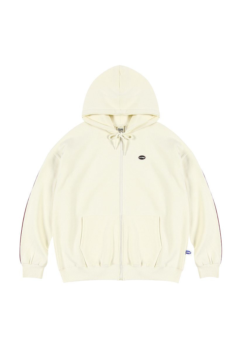 [크럼프][기모] Crump wappen piping hoodie zip-up (CT0231g-2)
