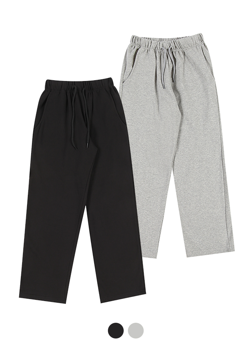 [12/20 예약배송] [크럼프] [1+1] [기모] Crump standard sweat pants (CP0121g)